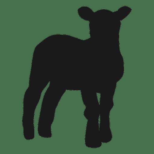 Silueta de cabra 3