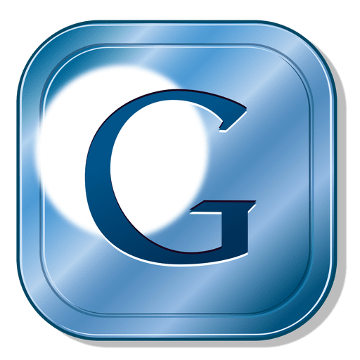Google metal button Transparent PNG