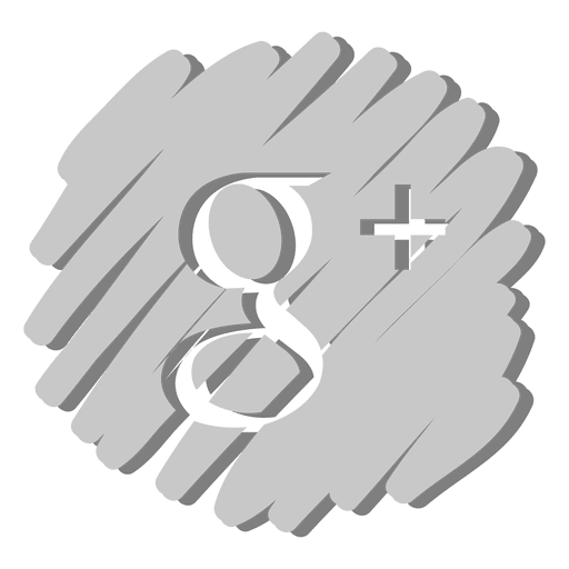 Google plus distorted icon Transparent PNG