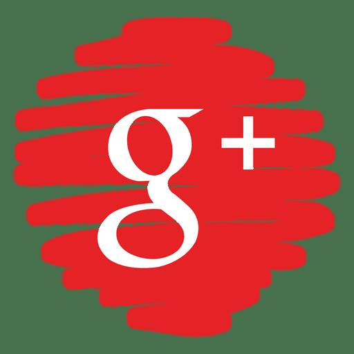 Google mais ícone redondo distorcido Transparent PNG