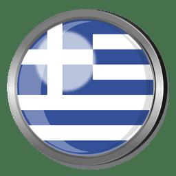 Crachá de bandeira da Grécia
