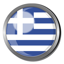 Grecia divisa de la bandera