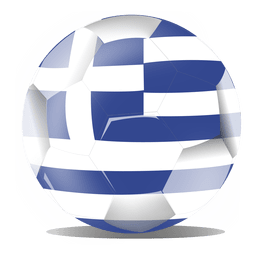 Greece football flag