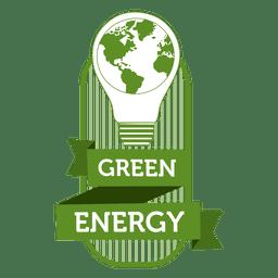 Etiqueta de energía verde