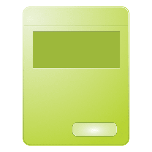 Green product box Transparent PNG