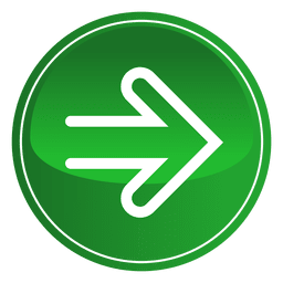 Green round arrow button