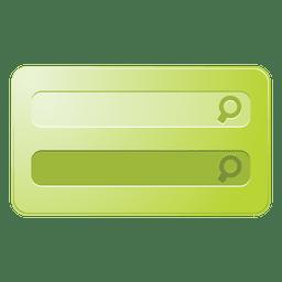 Cuadro de búsqueda verde