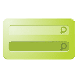 Green search box