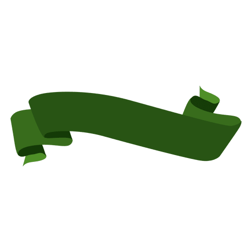 Grünes gewelltes Band