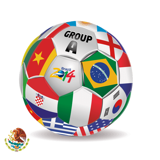 Group a teams football Transparent PNG