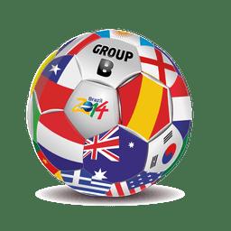 Grupo b equipes de futebol