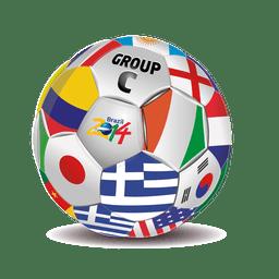 Grupo c equipes de futebol