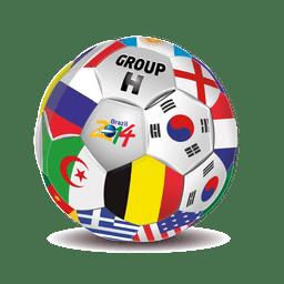 Group h teams football