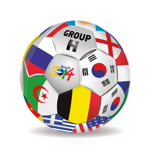 Group h teams football Transparent PNG