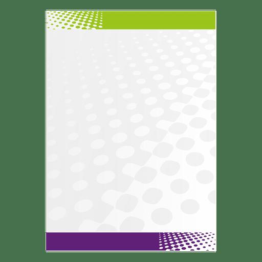 Halftones letterhead Transparent PNG