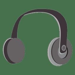 Dibujos animados de auriculares