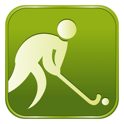 Hockey square icon Transparent PNG