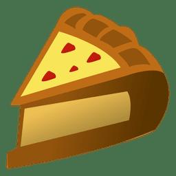 Hausgemachte Kuchen Cartoon