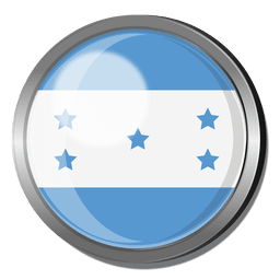Honduras flag badge