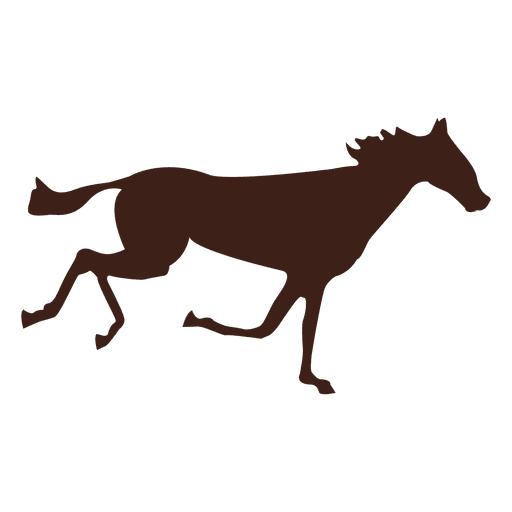 Horse galloping motion sequence 1 Transparent PNG