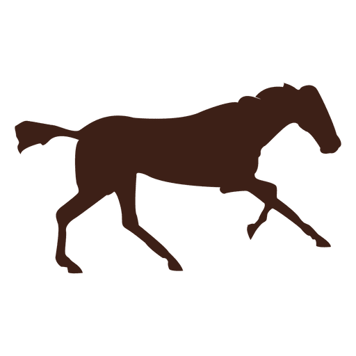 Horse galloping motion sequence 10 Transparent PNG