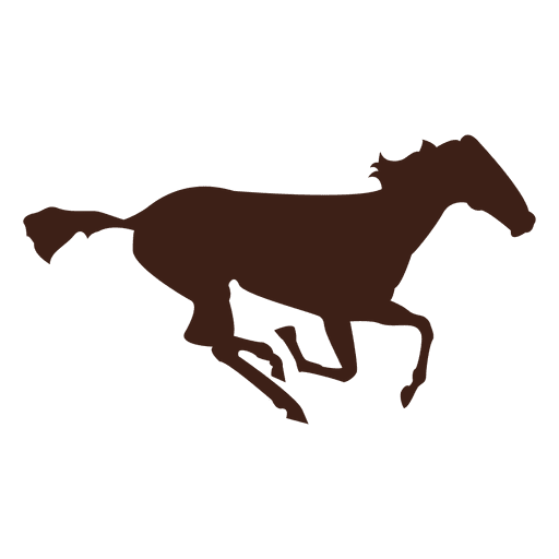 Horse galloping motion sequence 12 Transparent PNG