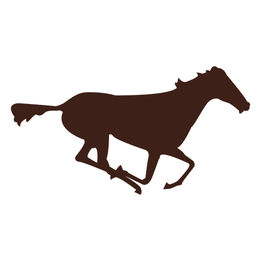 Horse galloping motion sequence 13 Transparent PNG