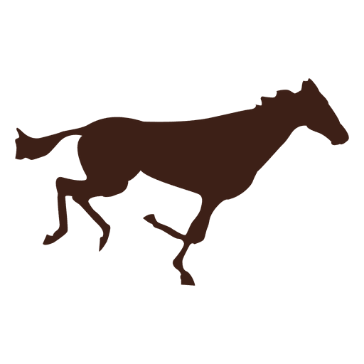 Horse galloping motion sequence 2 Transparent PNG