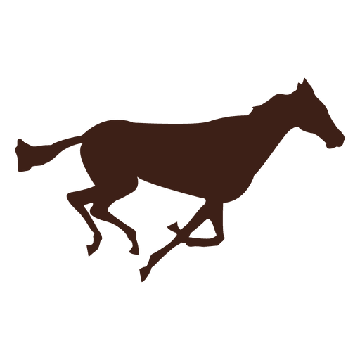 Horse galloping motion sequence 3 Transparent PNG