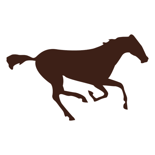 Horse galloping motion sequence 8 Transparent PNG