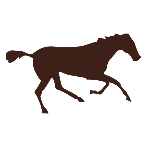Horse galloping motion sequence 9 Transparent PNG