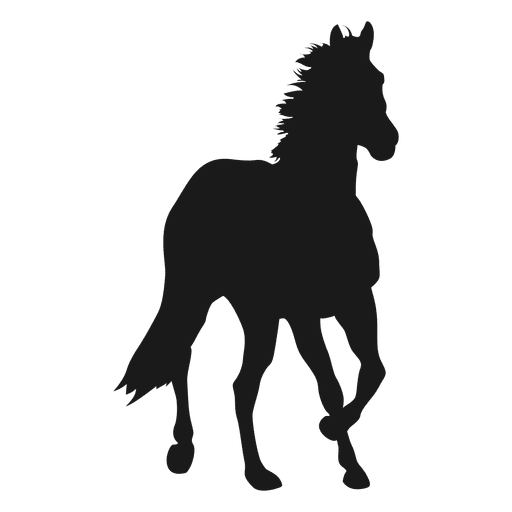 Horse silhouette 2 Transparent PNG
