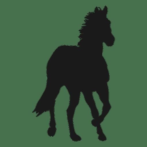 Silueta de caballo 2