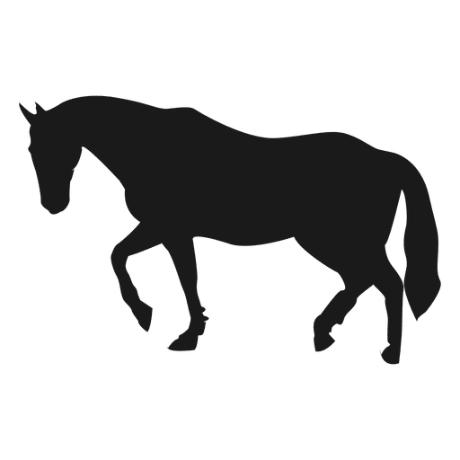 Pferdeschattenbild 3 Transparent PNG