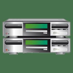 Icono de servidor de hosting