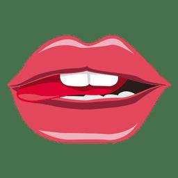 Expresión de la lengua caliente