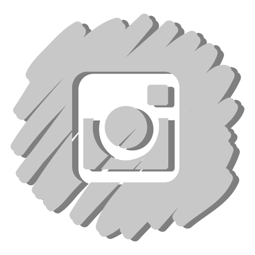 Instagram distorted icon Transparent PNG