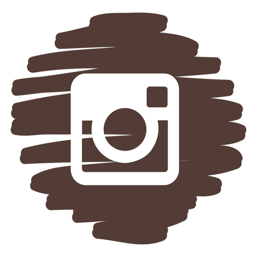 Instagram distorted round icon Transparent PNG