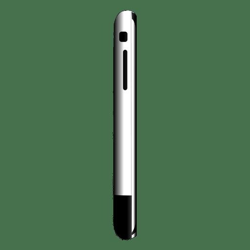 Vista lateral do iPhone 2 Transparent PNG