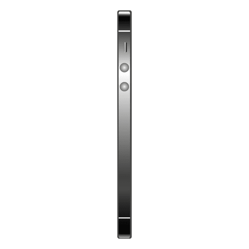 Iphone 5 side view Transparent PNG