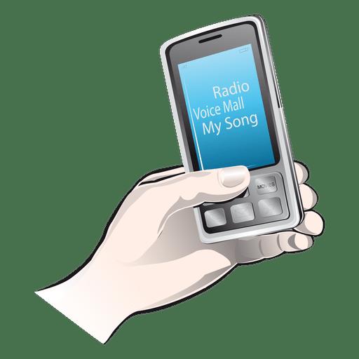 Ícone de mão do iphone Transparent PNG