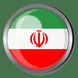 Irán divisa de la bandera