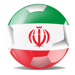 Bandeira do futebol do Irã