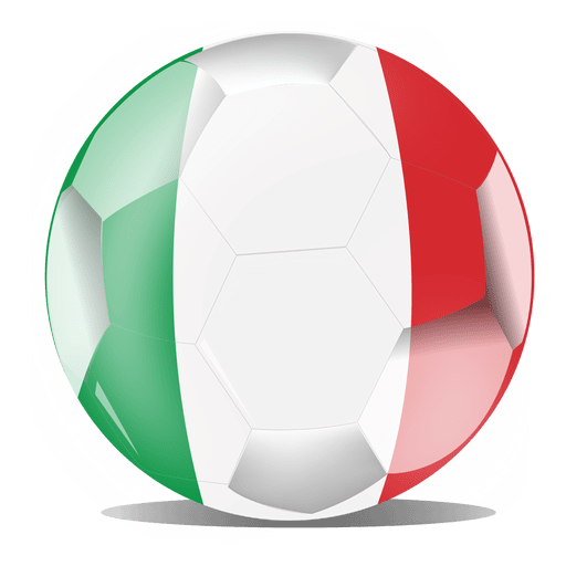 Bandera de fútbol de Italia