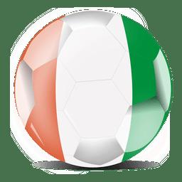 Ivory coast football flag