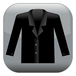 Jacket square icon