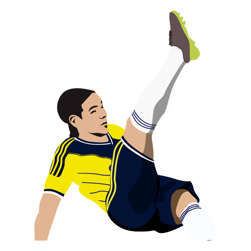 James Rodriguez Cartoon Transparent Png Svg Vector