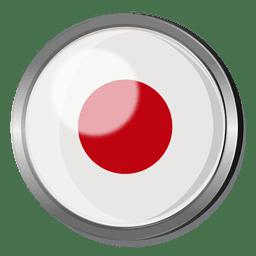 Japan Flagge Abzeichen