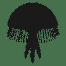 Silhueta de medusa