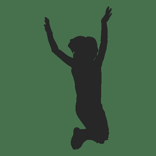 children playing silhouette - photo #34